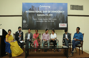 International Democracy Day in India