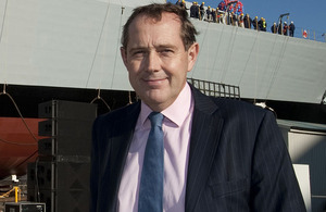 Peter Luff, Minister for Defence Equipment, Support and Technology