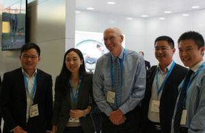 Lord Prior with Chinese delegates