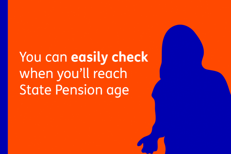 You can easily check when you'll reach State Pension age