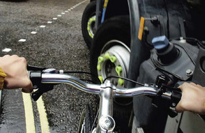 THINK! cycle safety.