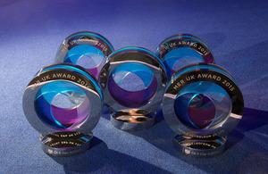 MER UK awards