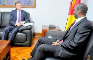 Trade Envoy meeting Mozambique's Prime Minister