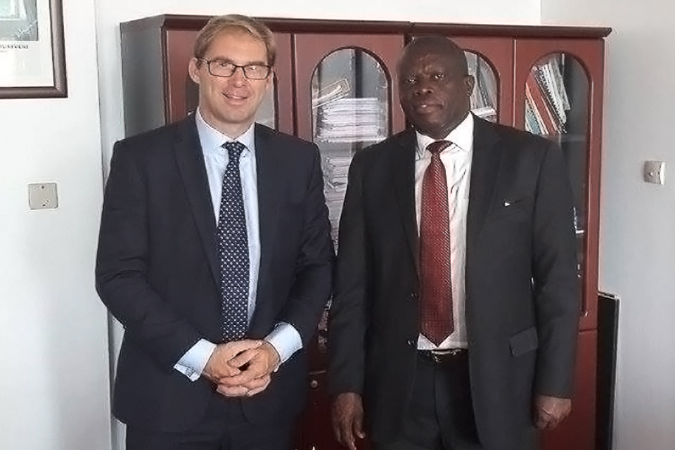 Minister for the Middle East and Africa, Mr Tobias Ellwood MP