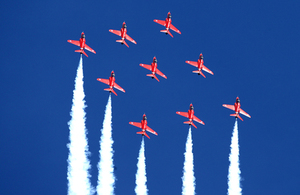 Royal Air Force the Red Arrows