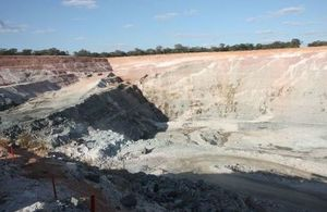 Picture of Kagem mine in Zambia