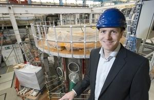 New CEO, Professor Ian Chapman