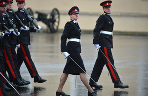 Officer Cadet Sarah Hunter-Choat