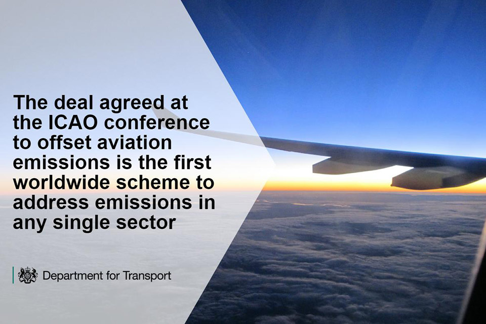 The first worldwide scheme to address emissions in any single sector.