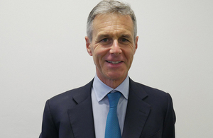 Tony Poulter appointed as a non-executive member of the Department for Transport Board.