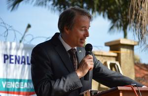 EU Head of Delegation in Uganda Kristian Schmidt