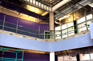 Under construction: HMP Berwyn education centre