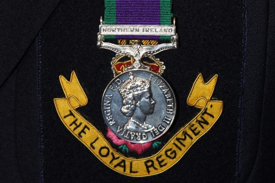 Northern Ireland service medal
