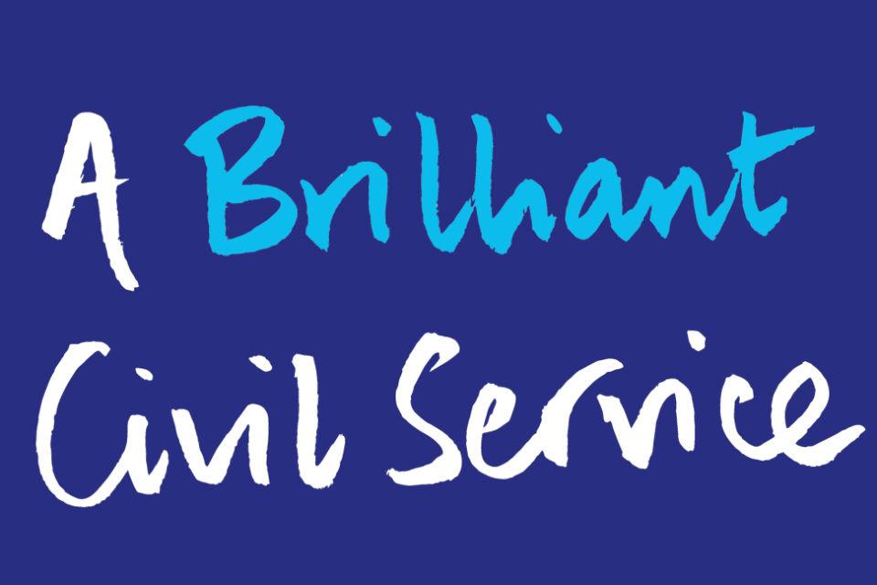 'A Brilliant Civil Service' logo