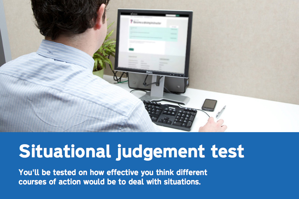 Taking the situational judgement test
