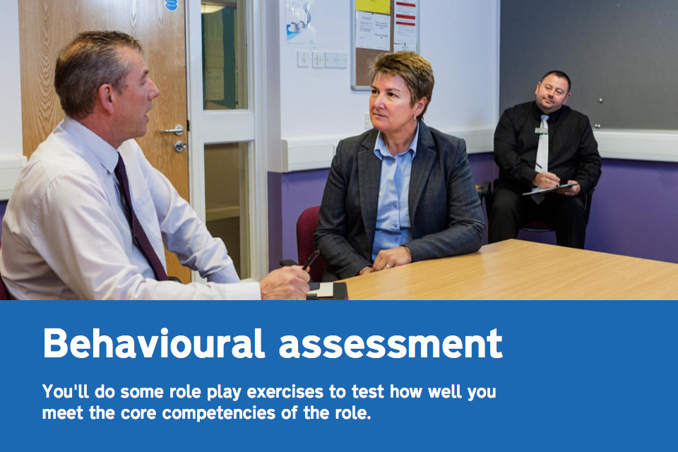 Taking the behavioural assessment