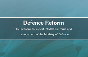 Defence Reform Report