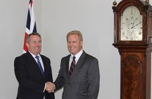 Rt Hon Liam Fox and Hon Todd McClay