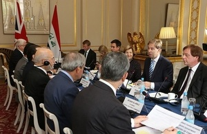 Minister Ellwood at the UK-Iraq Joint Committee