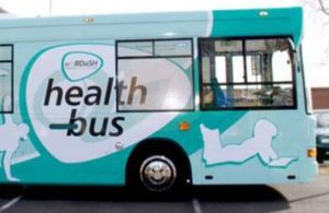 Photo of Doncaster Health Bus