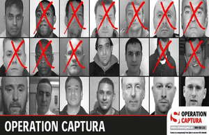 The hunt is on for more of Britain's most wanted fugitives
