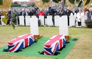 The funeral services, Crown Copyright, All rights reserved