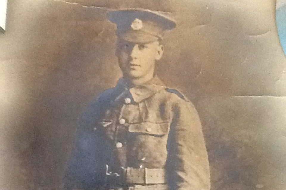 Private (Pte) Harry Carter (Copyright Hazel Churchyard) All rights reserved