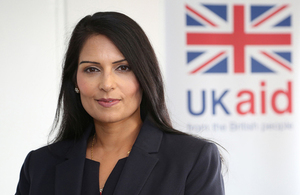 Secretary of State for International Development, Rt Hon Priti Patel MP