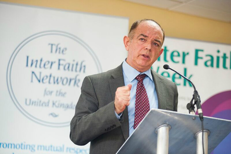Lord Bourne at Inter Faith