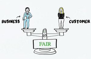 Unfair contract terms illustration