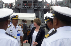 British High Commissioner visited port city in Chittagong