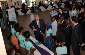 Prince Andrew in Francistown