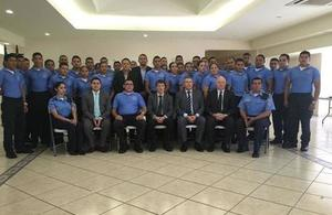 Training in Police Investigations Department Honduras