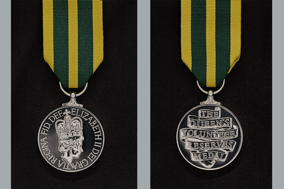 Queen's Volunteer Reserves Medal