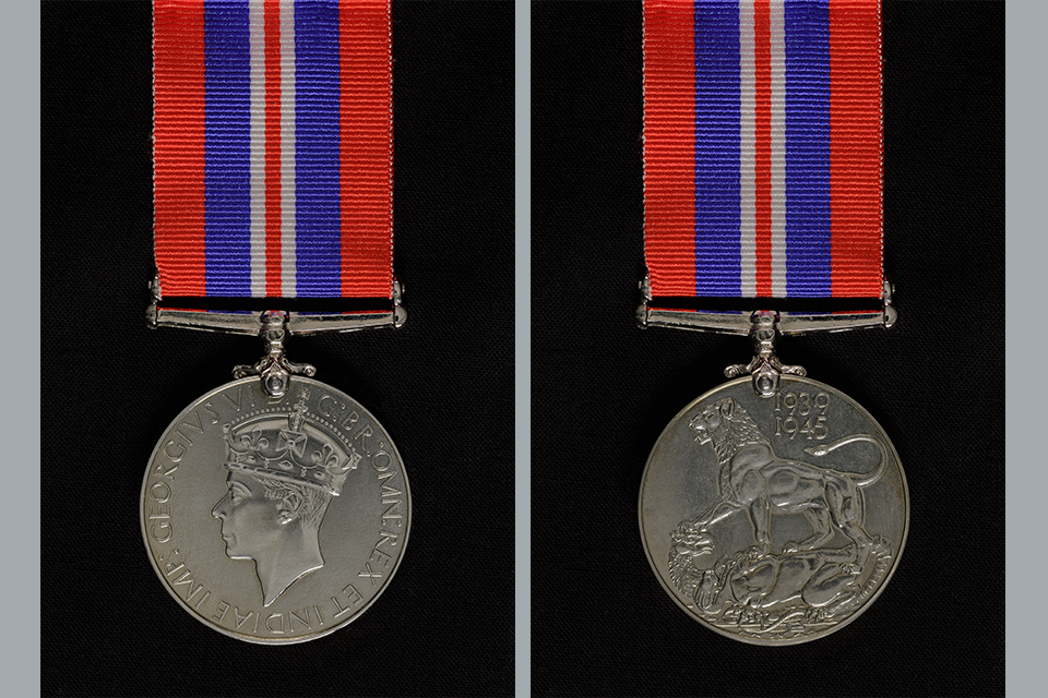 War Medal 1939 to 1945