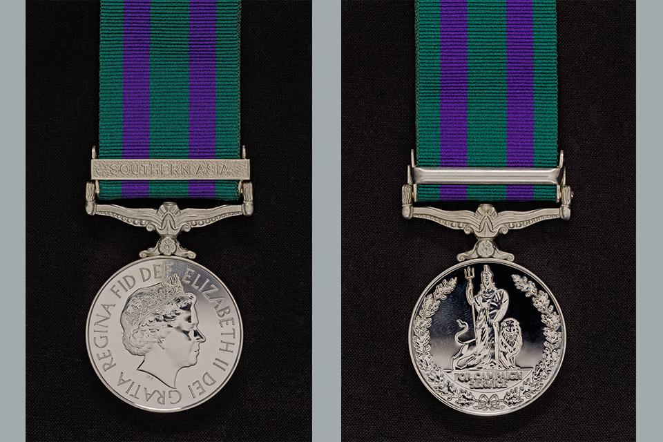 The General Service Medal 2008 Medal