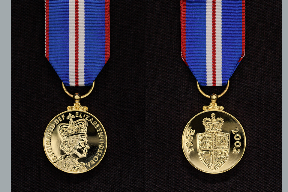 HM The Queen's Golden Jubilee Medal