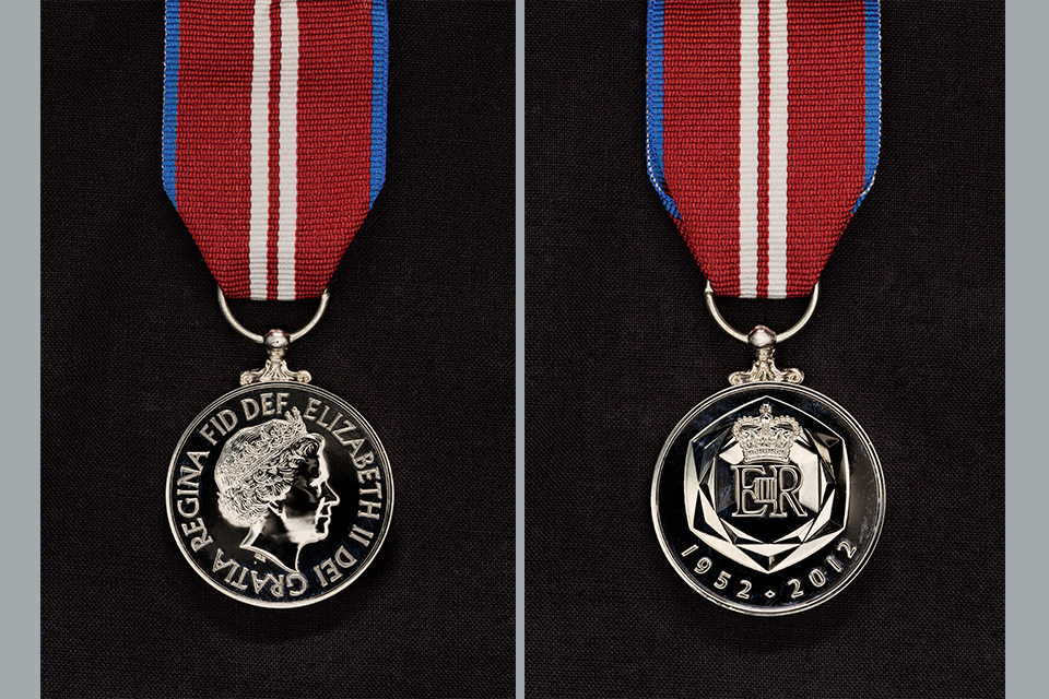 HM The Queen's Diamond Jubilee Medal