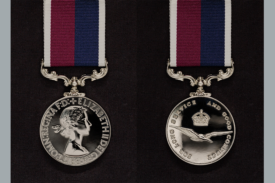 RAF Long Service and Good Conduct Medal