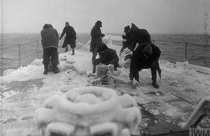 A photo of an Arctic Convoy ship - 1943