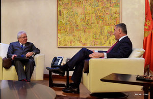 Ambassador Whitting meeting PM Đukanović