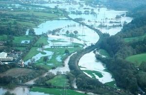 Tiverton flood