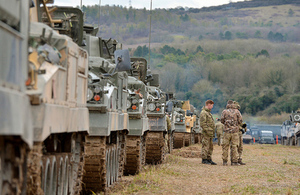 The British Army's Wiltshire based 3rd (UK) Division holding Exercise TRACTABLE 2016 on Salisbury Plain Training Area.