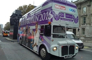 Pride of Britain Bus
