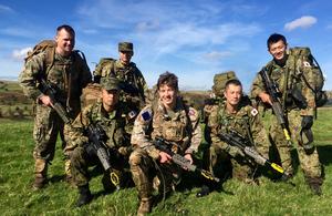 日英合同偵察訓練 - GOV.UK