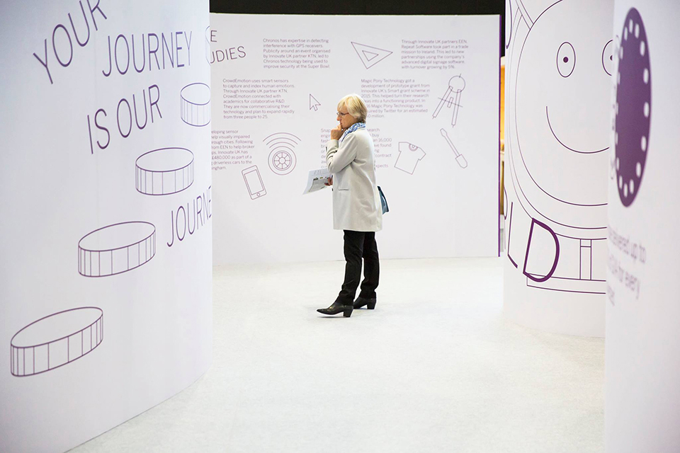 The Innovate UK stand
