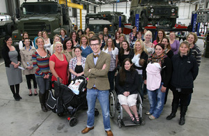 Gareth Malone and Military Wives