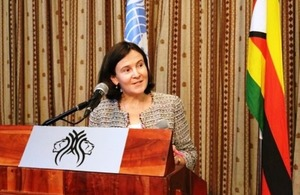 Annabel Gerry - Head of Department for International Development Zimbabwe