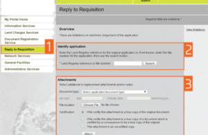 reply to requisition screenshot