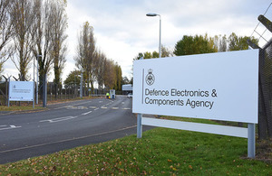 The Defence Electronics and Components Agency in Sealand